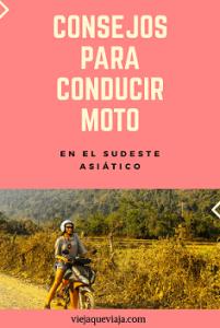 ConsConducir moto en el sudeste asiático