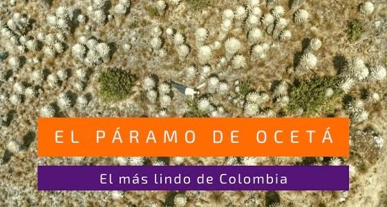 Páramo de Ocetá en Monguí, Colombia
