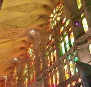 Vitral lateral de la basílica