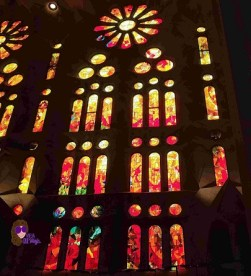 Vitrales de la Sagrada Familia de Barcelona