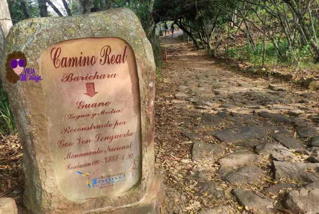camino real de barichara a guane