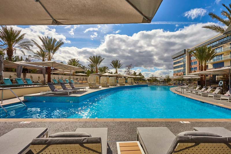 Allure Pool  Luxurious Pool in San Diego  Viejas Casino