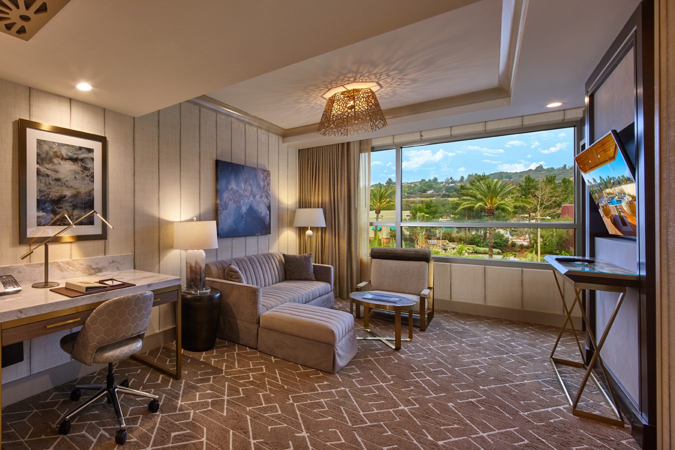 Luxury San Diego Hotel  Signature Suite  King  Viejas Casino  Resort