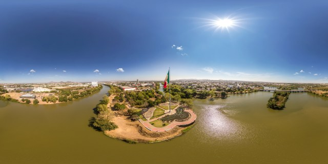 Mexican Flag Day in Culiacan, Sinaloa