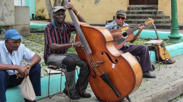 Straßenmusiker Santiago de Cuba