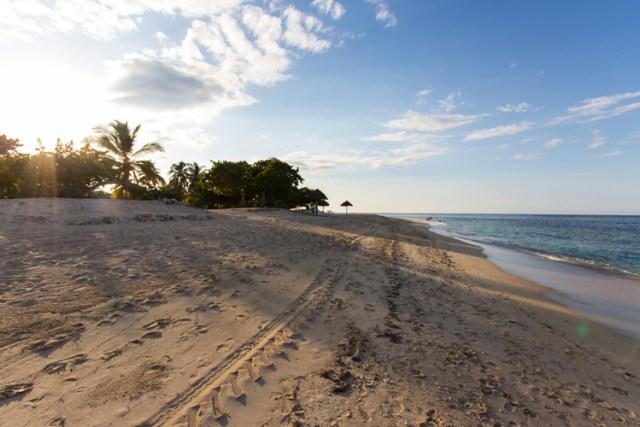 Wundervoller Strand in Playa Jibacoa Kuba