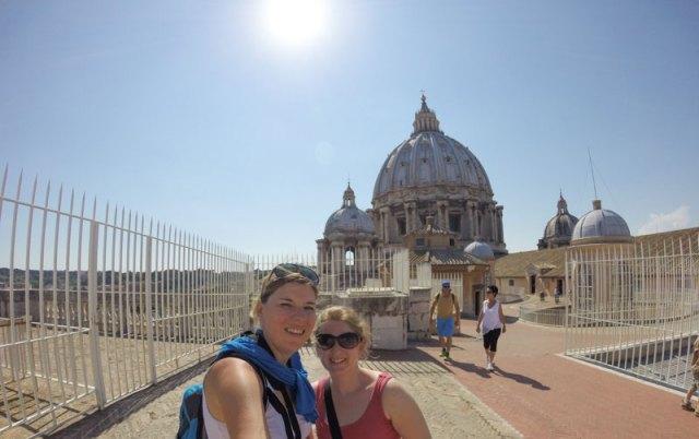 kuppel petersdom rom