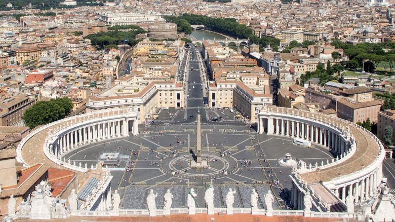 Rom von oben Die schnsten Aussichtspunkte auRom