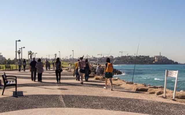 Tel Aviv - Jaffa Strandpromenade