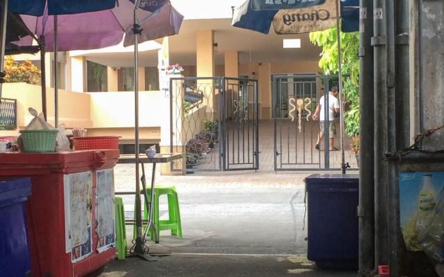 Bangkok Insider Tipp Garküche Hinterhof