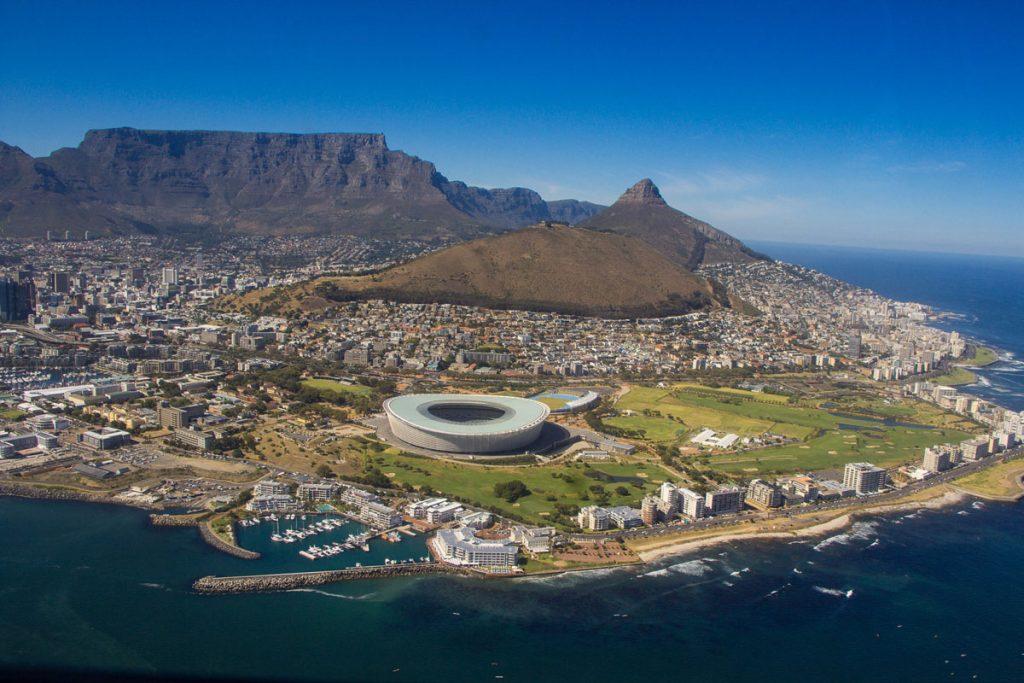 Rondvlucht per helikopter Kaapstad