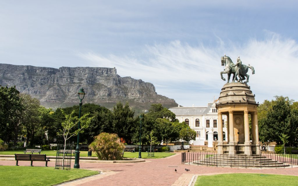 The Company's Garden in Kaapstad