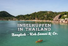 Inselhopping in Thailand