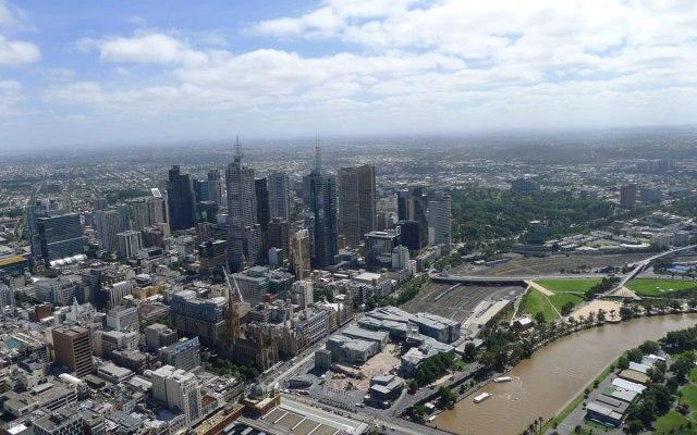 Melbourne Sehenswürdigkeiten Aussicht vom Eureka Tower