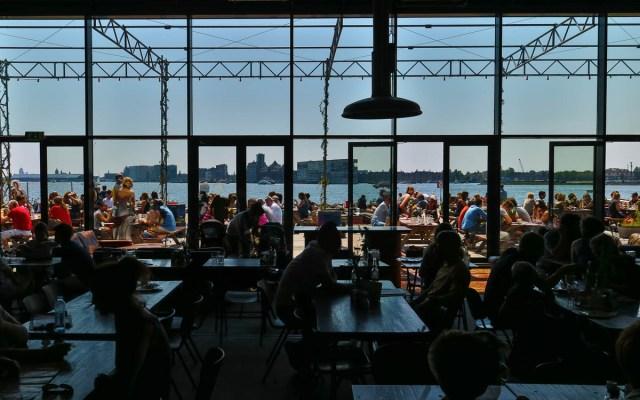 Amsterdam Reisetipps NDSM Werft Pilek Bar