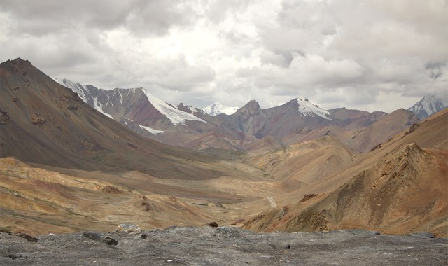 Nach dem Ak Baital Pass
