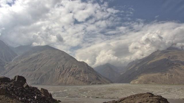 Dreilaendereck Packistan Tadschikistan Afghanistan