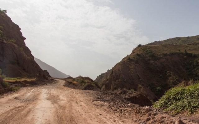 Pamir Highway zwischen Kulob und Khorog