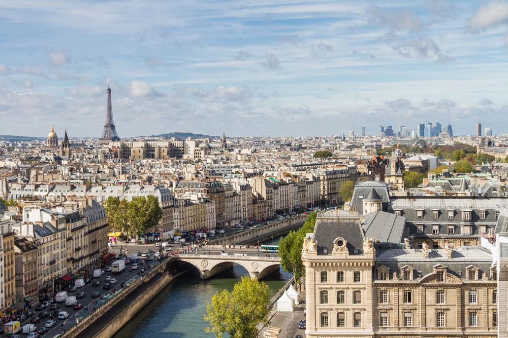 Europa's mooiste steden Parijs