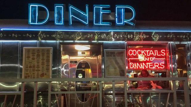 Miami Beach Sehenswürdigkeiten Art Deco Diner