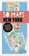 New York Reiseführer Empfehlung 50 Maps New York Dumont