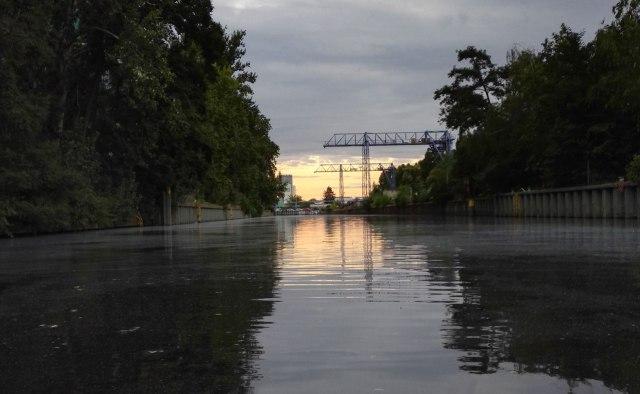 Berlin-Neukölln Tipp Landwehrkanal Sonnenuntergang