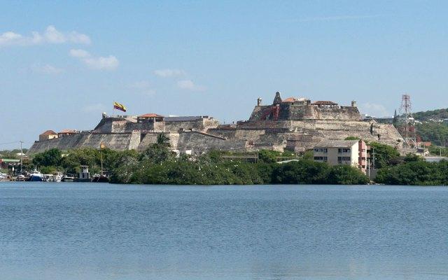 Castelo de san Felipe de Barajas in Cartagena