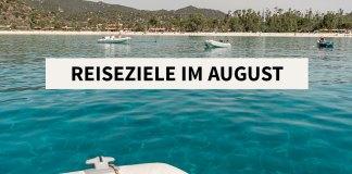 Urlaub im August