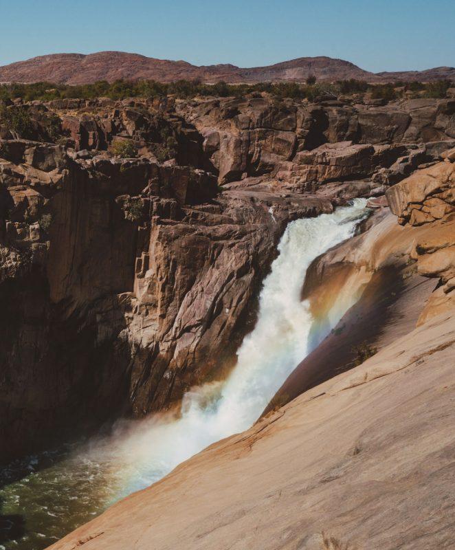 Augrabies Falls regenboog