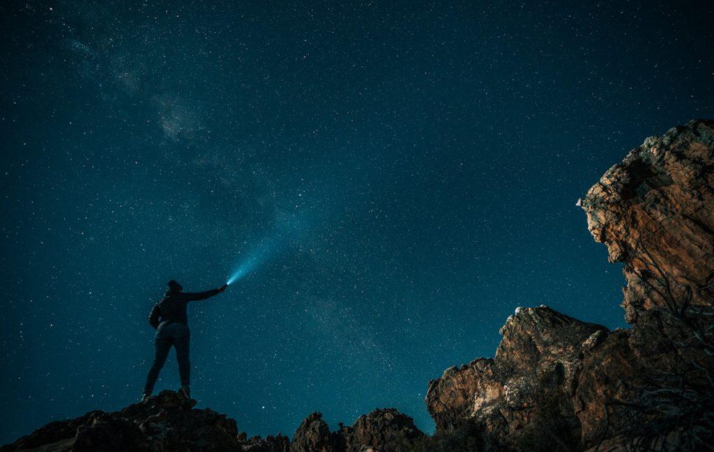 Het fotograferen van Kagga Kamma-nachthemel