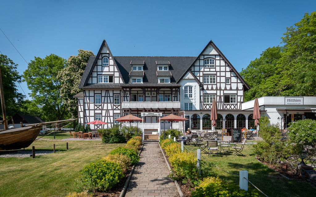 Hotel Hitthim in klooster aan Hiddensee