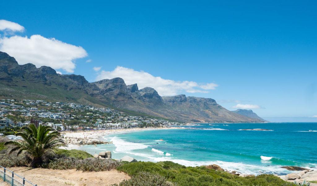 Camps Bay en de 12 apostelen in Kaapstad