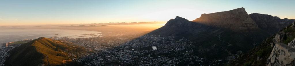 Lionshead Kaapstad zonsopgang