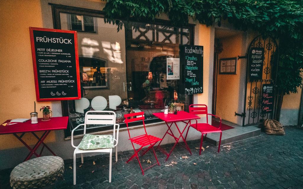 Pop coffeeshop in Meersburg