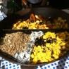 Sterz, Käferbohnen, Gemüse: Alles da