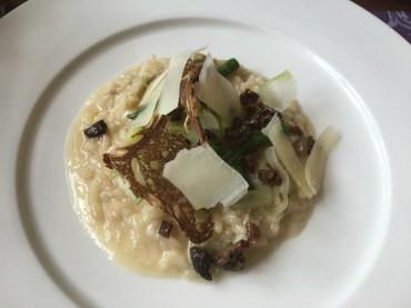 Q15: Risotto mit Spargel und Pilzen