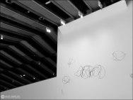 #2 - Museo Pablo Serrano - techos y pared con nubes