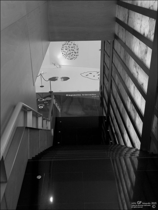Centro de Historias - interior - espacio tránsito