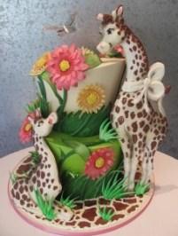 tort cu girafe