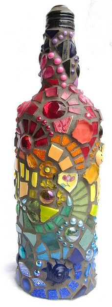 mozaic pe sticla