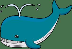 Dialog între o balenă şi un copil - poezie