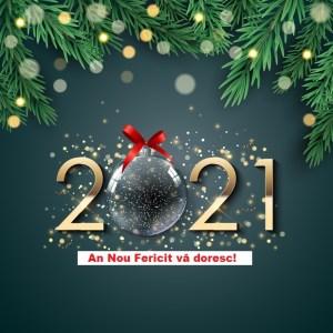 Un An Nou Fericit! La mulți ani! Fie ca 2021...