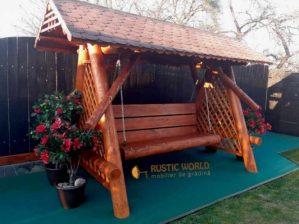 leagăn de grădină din lemn