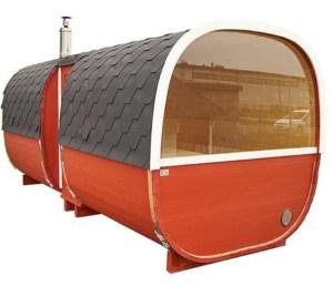 sauna de exterior relaxare
