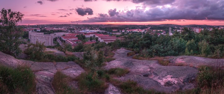 View from Ramberget, Gothenburg