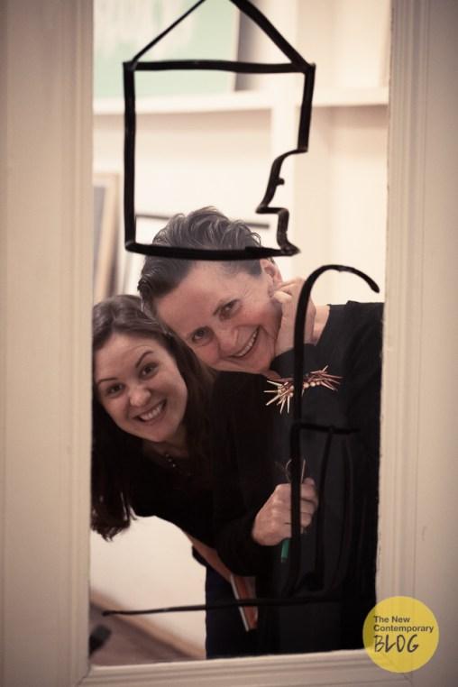 Christine König and Kristina Kulakova