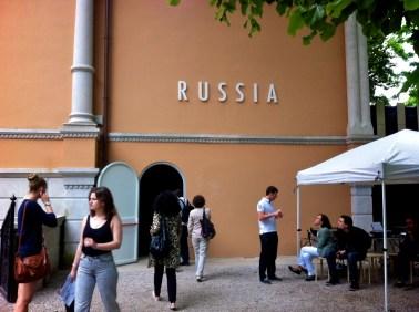 Russian Pavilion outside