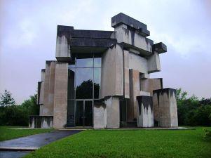 The Wotruba Church. Photo: Muesse