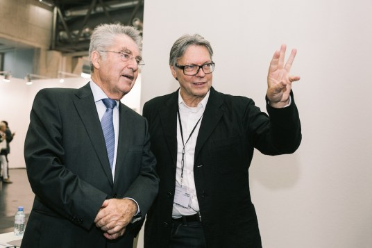 The President Dr. Heinz Fischer and Christian Meyer