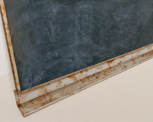 Jakub Ciezki, Blackboard, Painting, 120x150 cm, 2014, Propaganda, photocredit: courtesy of the gallery